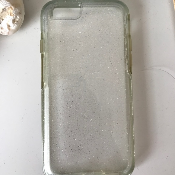 check out 85968 6ea34 Otterbox iPhone 6/6S clear sparkle case